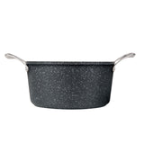 Granite Non-Stick Stock Pot with Lid, 9.5""