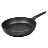 FRY PAN & SKILLET NON-STICK CAST ALUMINUM STRIPE DESIGN, 9.5""