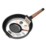 FRY PAN & SKILLET NON-STICK CAST ALUMINUM WITH DETACHABLE HANDLE, 11""
