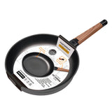 FRY PAN & SKILLET NON-STICK CAST ALUMINUM WITH DETACHABLE HANDLE, 12.6""