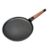 CREPE PAN NON-STICK CAST ALUMINUM WITH DETACHABLE HANDLE, 11""