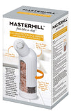 MASTERMILL 5-in-1 MULTI SECTION SPICE GRINDER & DISPENSER, WHITE (SPICES NOT INCLUDED)