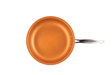 FRY PAN, COPPER COLOR CERAMIC NON-STICK COATING, 10""