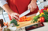 Triple Rivet Collection Santoku Knife Stainless Steel Blade 7""