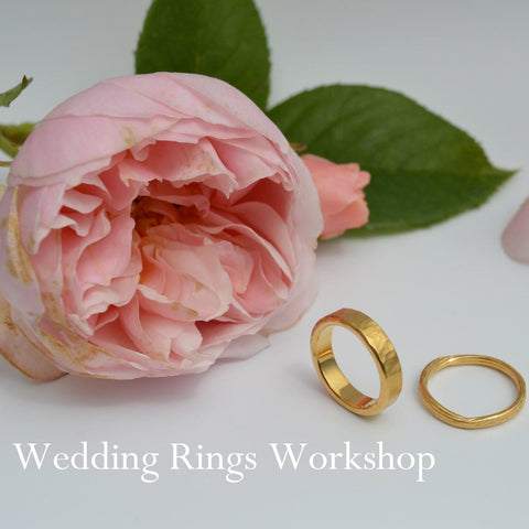 One day Wedding Rings Workshop Jewellery Course for couples.