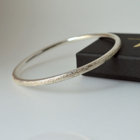 """Classics"" Sterling Silver Bangle"