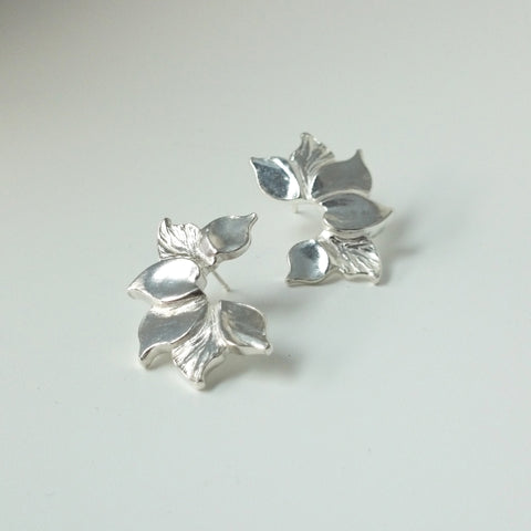 Fleur Silver Earrings