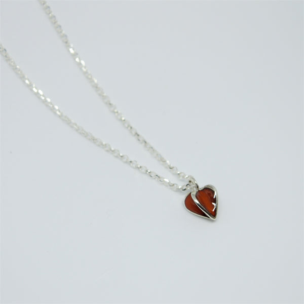 Enamelled Sweet Hearts Necklace