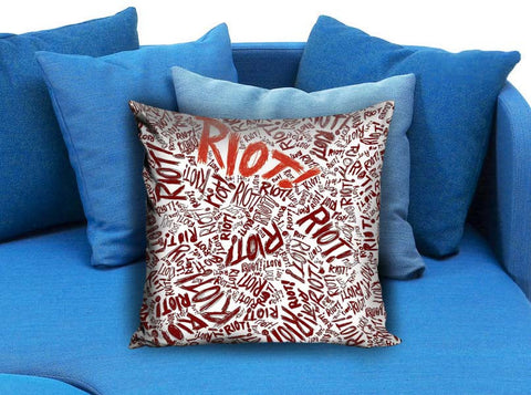 Paramore riot Pillow case