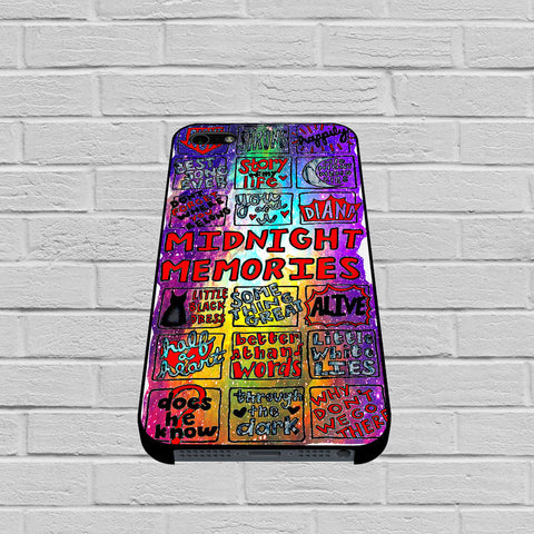 1d Midnight Memories Collage case1 of iPhone case,Samsung Galaxy