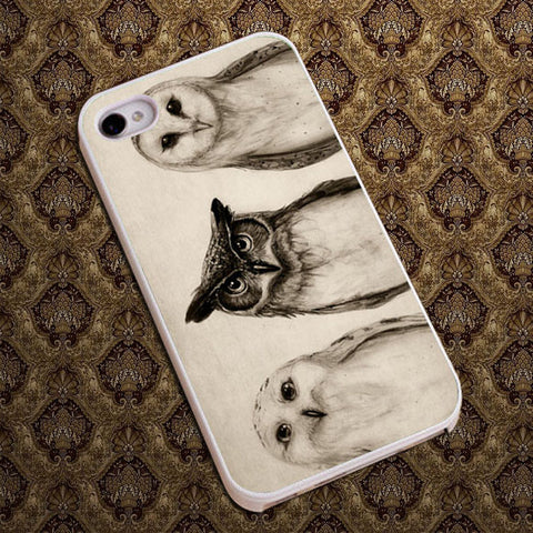 3 Owl Phone case iPhone case Samsung Galaxy Case