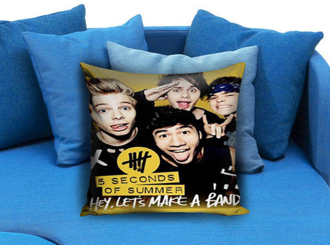 5SOS 5 Second Of Summer Band Pillow Case