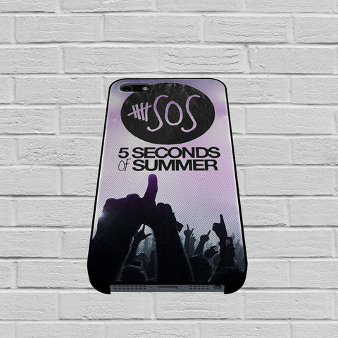 5SOS 5 Seconds Of Summer Logo Galaxy Nebula case of iPhone case,Samsung Galaxy