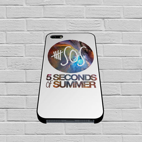 5SOS Five Seconds Of Summer Nebula Cover case of iPhone case,Samsung Galaxy