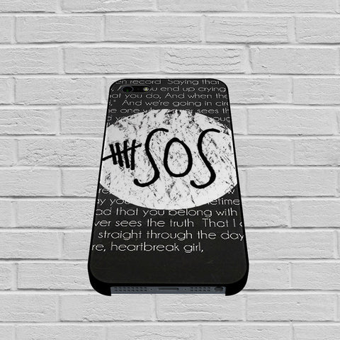 5SOS Quote case of iPhone case,Samsung Galaxy