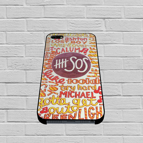 5 Seconds Of Summer 5SOS Quote Design case of iPhone case,Samsung Galaxy