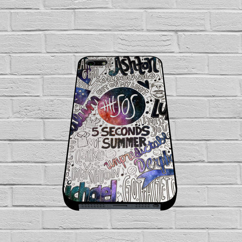 Seconds Of Summer Collage case1 of iPhone case,Samsung Galaxy