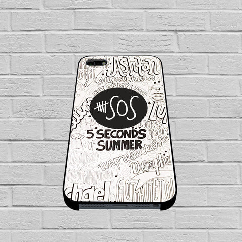 5 Seconds Of Summer Collage case2 of iPhone case,Samsung Galaxy