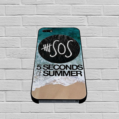 5 Seconds of Summer Band The Beach case of iPhone case,Samsung Galaxy