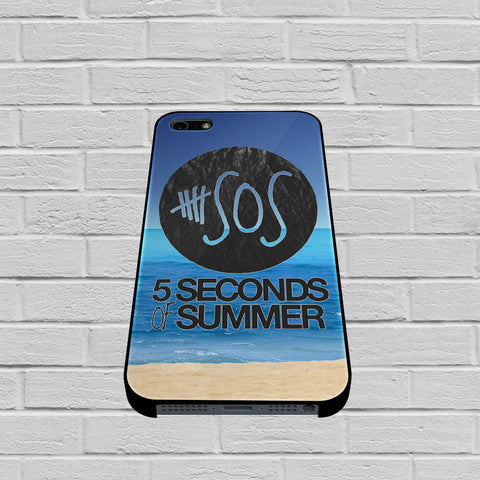 5 Seconds of Summer Beach case of iPhone case,Samsung Galaxy