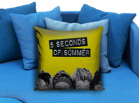 5 Seconds of summer cute face Pillow case