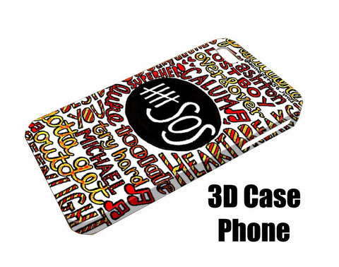 5 second of summer Design 3D Case Phone case iPhone case Samsung Galaxy Case