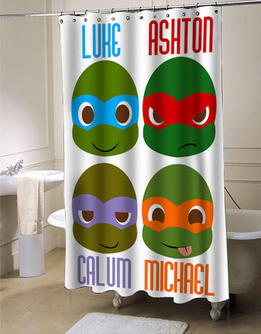 5 second of summer NINJA shower curtain customized design for home decor