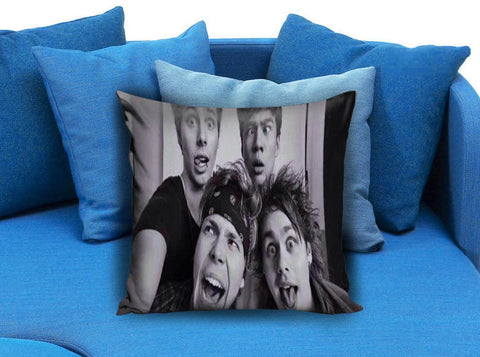 5 sos funny selfie Pillow Case