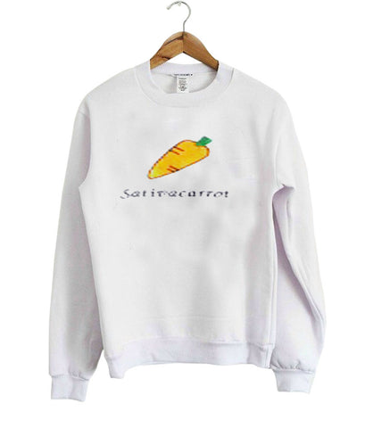 A carrot sweatshirt