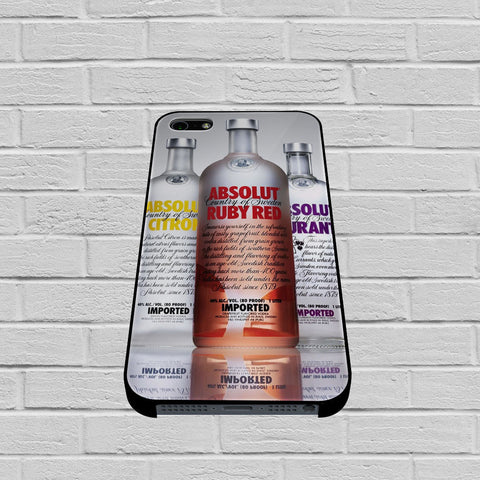 Absolut Vodka Sortiments case of iPhone case,Samsung Galaxy