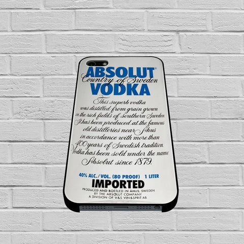 Absolut Vodka case of iPhone case,Samsung Galaxy