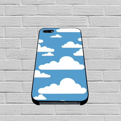 Abstract Blue Sky White Cloud case of iPhone case,Samsung Galaxy
