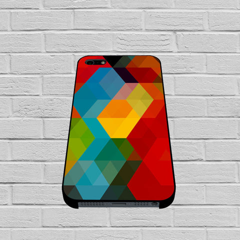 Abstract Polygonal Rainbow case of iPhone case,Samsung Galaxy
