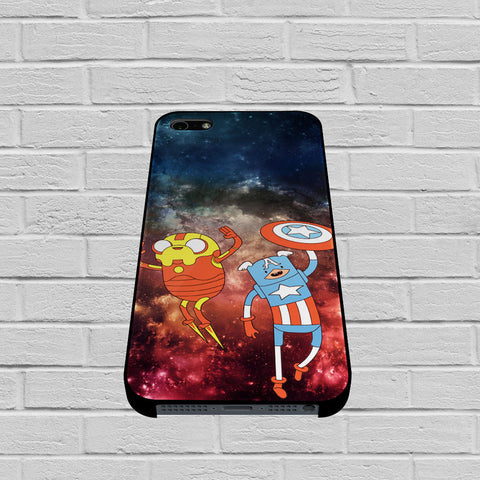 Adventure Time Avenger In Galaxy Space case of iPhone case,Samsung Galaxy