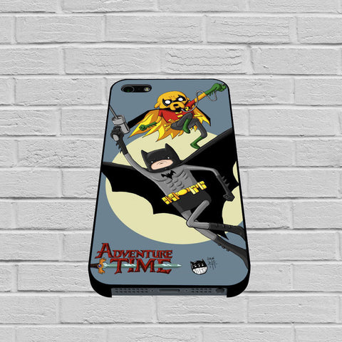 Adventure Time Batman & Robin case of iPhone case,Samsung Galaxy
