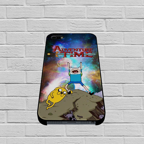 Adventure Time Jake The Dog And Finn The Human In Galaxy Nebula case of iPhone case,Samsung Galaxy