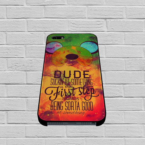 Adventure Time Jake The Dog Quote Galaxy Nebula case of iPhone case,Samsung Galaxy