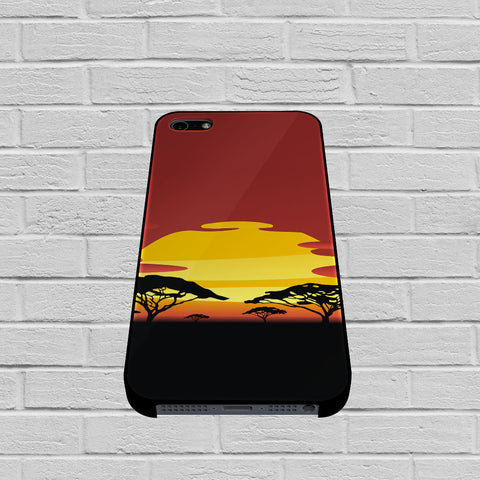 African Sunset case of iPhone case,Samsung Galaxy