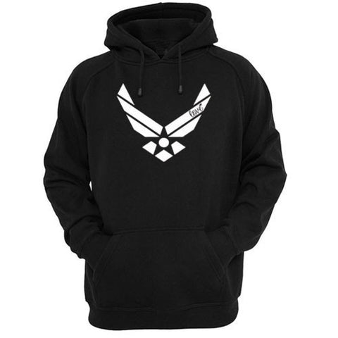 Copy of Air force racerback front hoodie