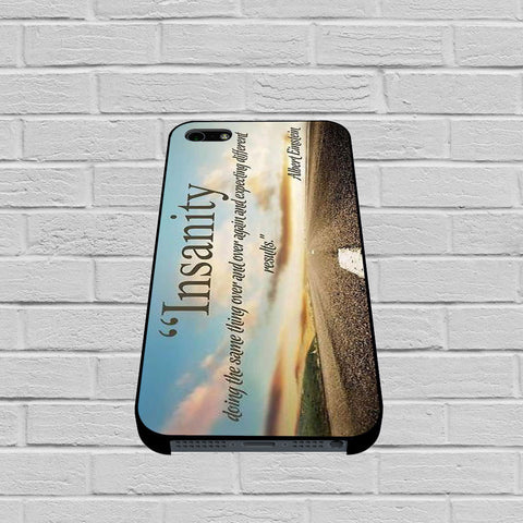 Albert Einstein Insanity Quote case of iPhone case,Samsung Galaxy