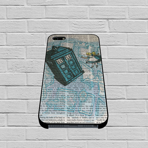 Alice In Wonderland Tardis Doctor Who case of iPhone case,Samsung Galaxy