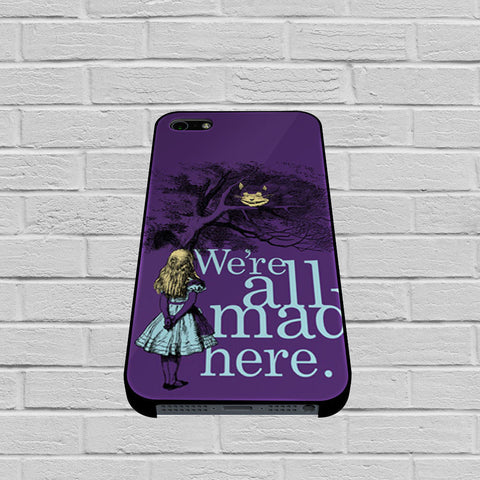Alice In Wonderland case of iPhone case,Samsung Galaxy