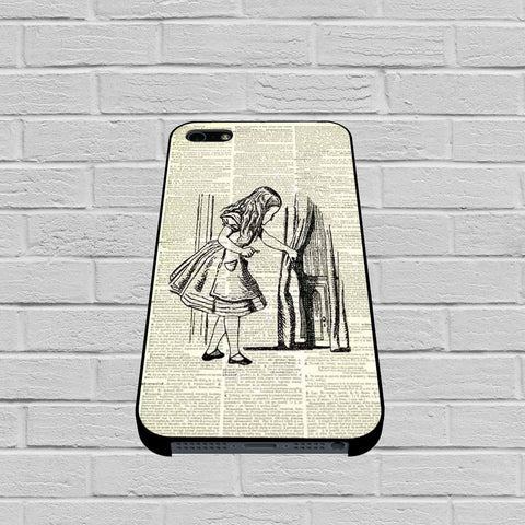 Alice in Wonderful Dictionary case of iPhone case,Samsung Galaxy