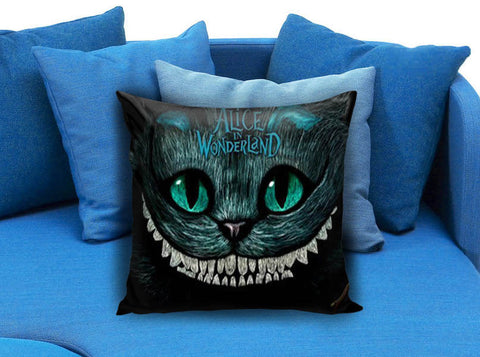 Alice in Wonderland Cats Smile Pillow case