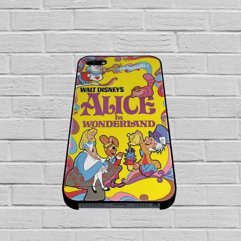 Alice in Wonderland Disney Cover Book case of iPhone case,Samsung Galaxy