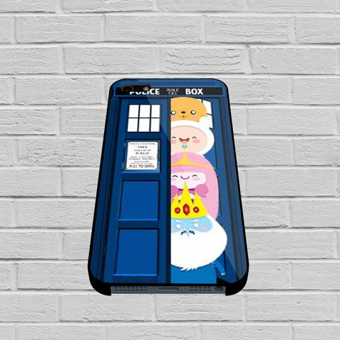 All Character Adventure Time in Tardis Dr Who case of iPhone case,Samsung Galaxy