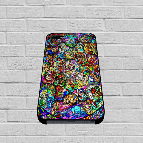 All Characters Disney Stained Glass case of iPhone case,Samsung Galaxy