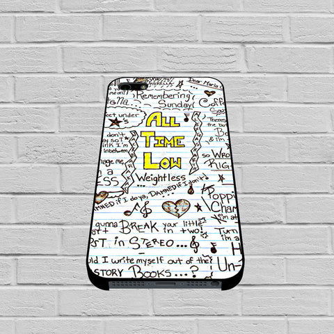 All Time Low Collage case of iPhone case,Samsung Galaxy