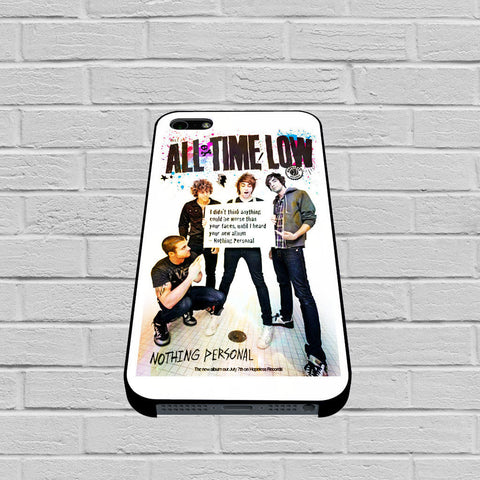 All Time Low Poster Design case of iPhone case,Samsung Galaxy