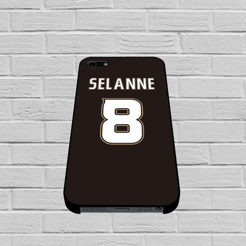 Anaheim Ducks Teemu Selanne case of iPhone case,Samsung Galaxy